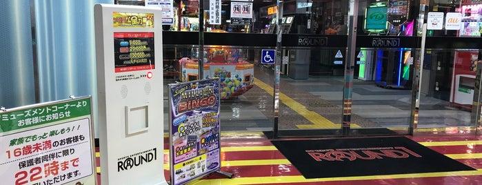 ラウンドワン 守口店 is one of ゲーセン.