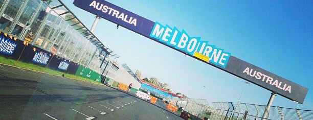 Formula 1 Grand Prix Circuit is one of Establishments to Frequent.