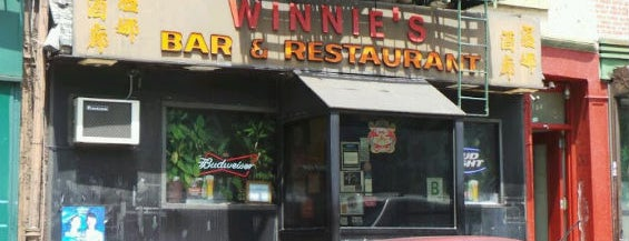 Winnie's is one of 10 Best Birthday Bars.