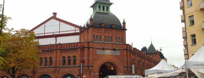 Östermalms Saluhall is one of 36 hours in...Stockholm.