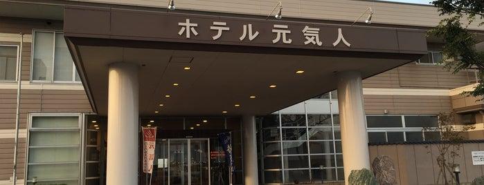 ハーバルスパ&ホテル元気人 is one of 宿泊履歴.