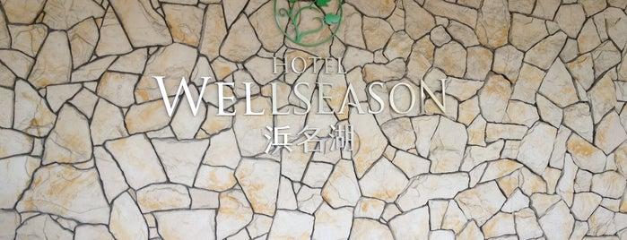 Hotel Wellseason Hamanako is one of 宿泊履歴.