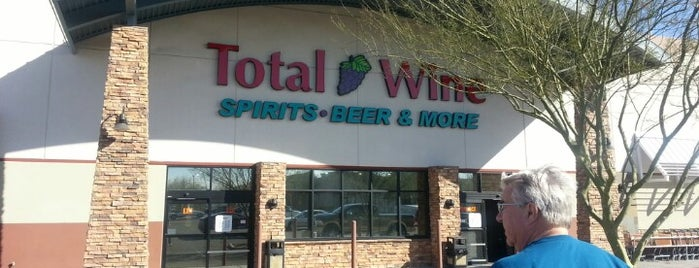 Total Wine & More is one of Stores.