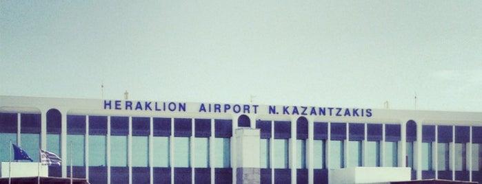 Heraklion Uluslararası Havalimanı Nikos Kazancakis (HER) is one of Airports in Europe, Africa and Middle East.