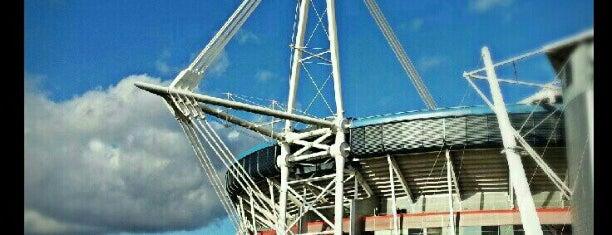 Principality Stadium is one of UK & Ireland Pro Rugby Grounds.