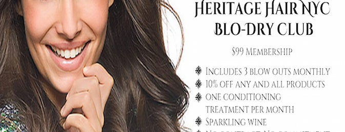 Heritage Hair NYC is one of LES History Month Specials for Foursquare Users.