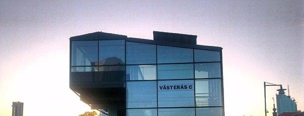 Västerås Centralstation is one of Tågstationer - Sverige.
