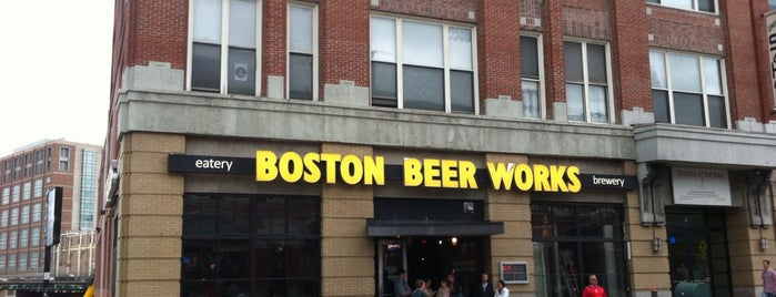 Boston Beer Works is one of Best Boston Beer Bars.