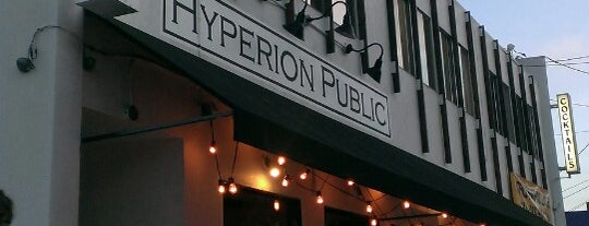 Hyperion Public is one of LA.