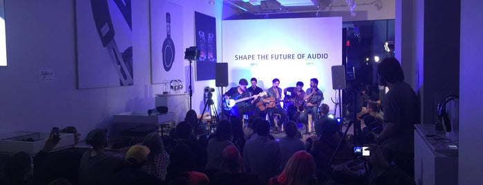 Sennheiser: Shape The Future of Audio is one of The 15 Best Electronics Stores in New York City.