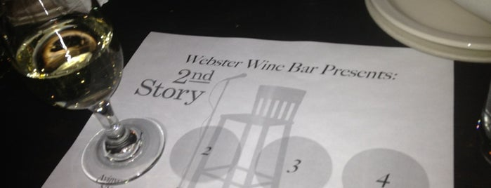 Webster's Wine Bar is one of CHI - Oysters.