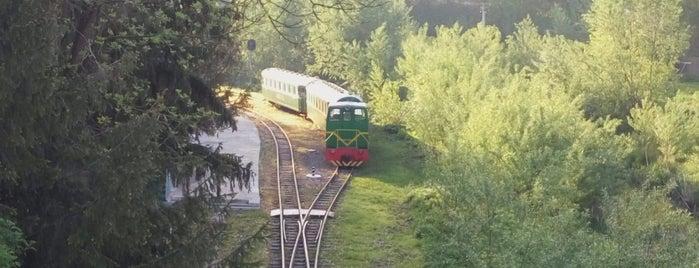 Дитяча залізниця is one of Луцк.