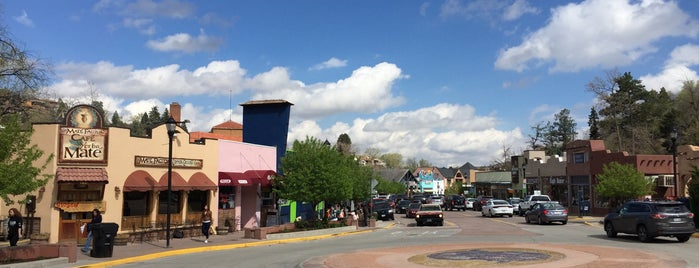 City of Manitou Springs is one of Colorado Tourism.