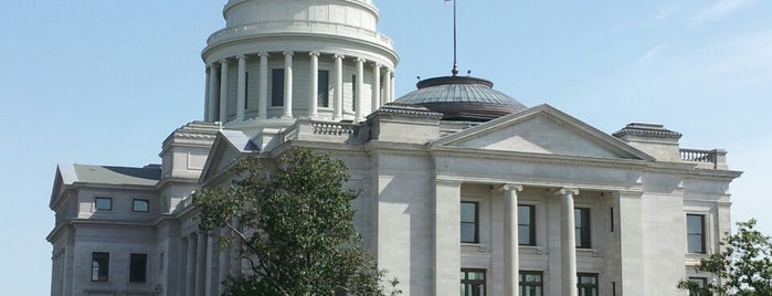 Arkansas State Capitol is one of All Caps.
