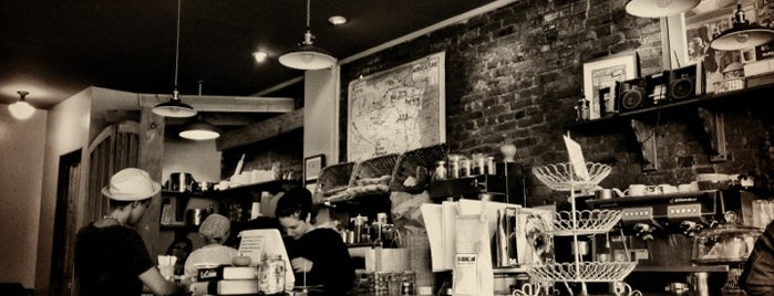 Couleur Café is one of The 13 Best Places for Breakfast Pastries in Brooklyn.