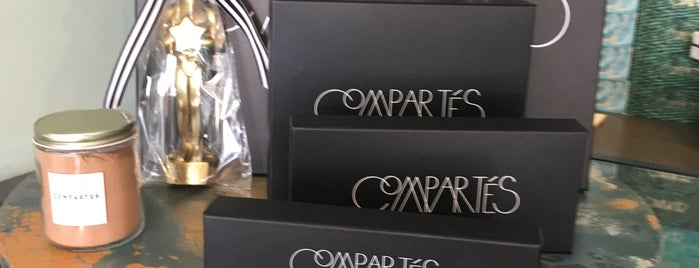 Compartes Chocolatier is one of SoCal Shops, Art, Attractions.