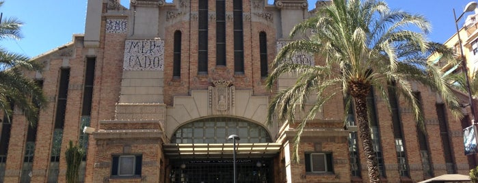 Mercado Central de Alicante is one of Alicante urban treasures.