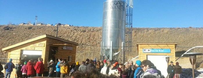 Crazy Mountain Brewing Company is one of Colorado Beer Tour.
