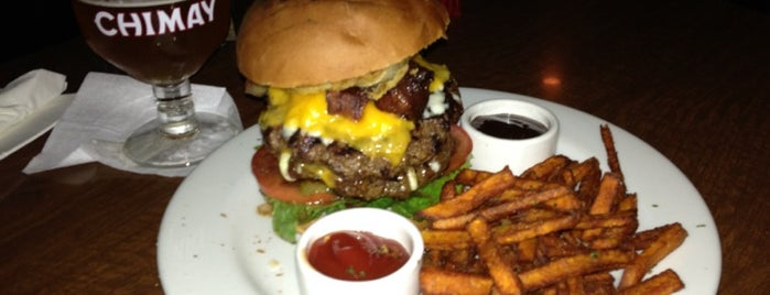 Tompkins Square Bar and Grill is one of LA's Best Hamburgers.