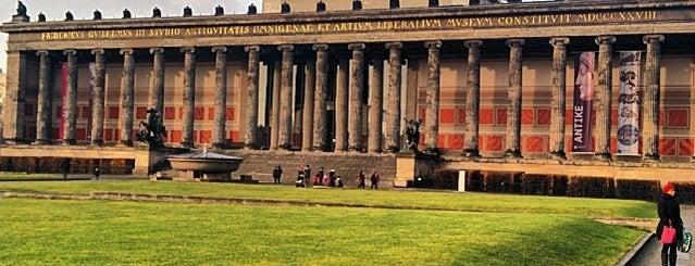 Altes Museum is one of #MuseumMarathon Berlin 2014.