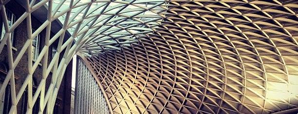 Estación De Londres King's Cross (KGX) is one of Europa.