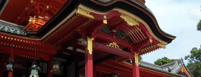 石清水八幡宮 is one of 気になるべニューちゃん 関西版.