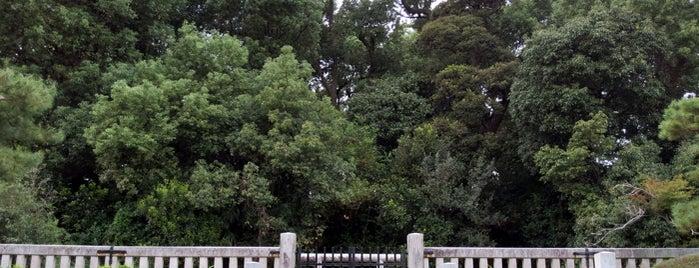 莵道稚郎子皇子御墓 (丸山古墳) is one of 気になるべニューちゃん 関西版.