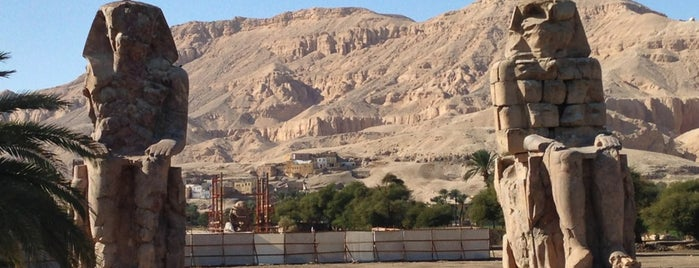 Colossi of Memnon is one of 36 Hours In...Luxor.