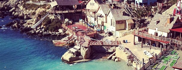 Popeye Village is one of Malta.