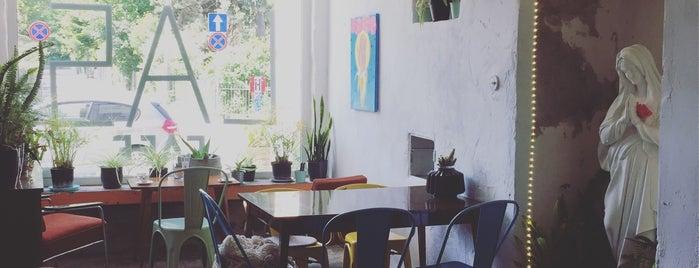 LAS Cafe is one of gdzie na obiad.