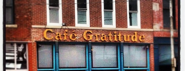 Café Gratitude is one of Vegetarian and Veggie Friendly.
