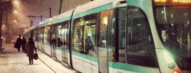 Station Porte de Versailles [T2,T3a] is one of Tramway T3a.