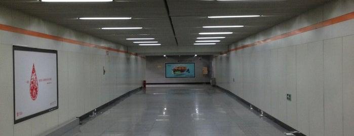 Shangda Rd. Metro Stn. | 上大路地铁站 is one of Metro Shanghai.
