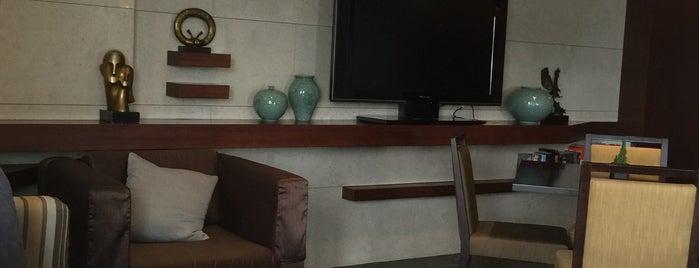 Grand Hilton Seoul Club Lounge is one of Last Trail . . ..