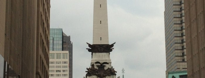 Monument Circle is one of Regular stops.