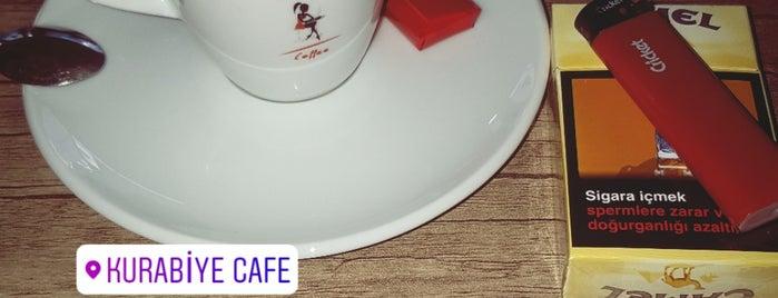 Kurabiye Cafe (Pasta, Kurabiye&Cafe) is one of Baranoğlu cafe pastane restorant.