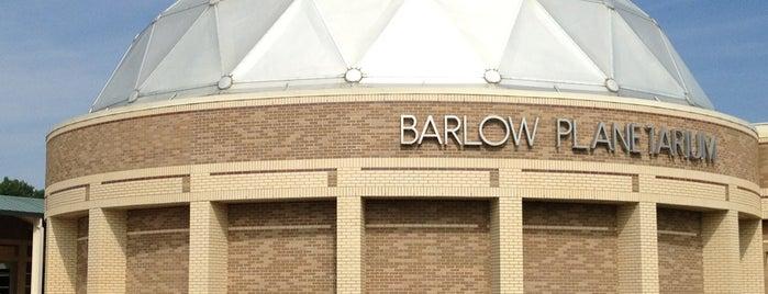 Barlow Planetarium is one of Milwaukee.