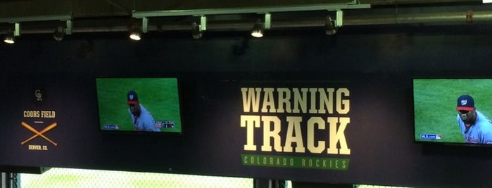 Warning Track Party Room is one of Colorado.