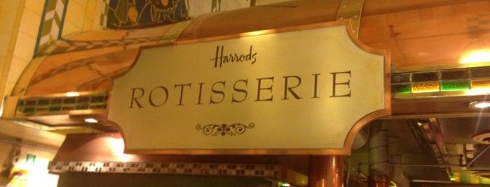 Harrods Rotisserie is one of Foodies.