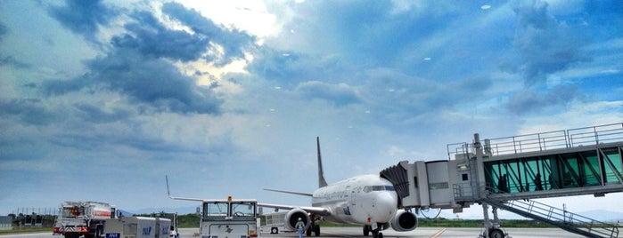 岩国錦帯橋空港 / 岩国飛行場 (IWK) is one of International Airports.