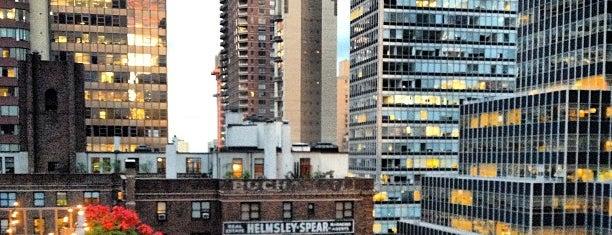 Henry's Roof Top Bar - @RSHotel is one of Manhattan Essentials.