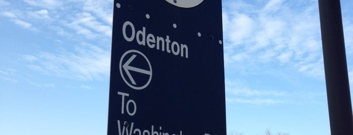 Odenton MARC Station is one of Hometown Hot Spots.