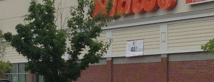 Shaws Supermarket is one of places.