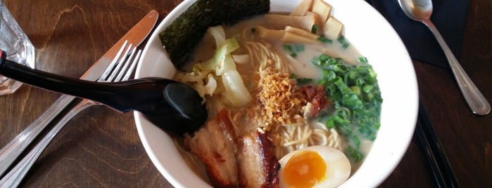 Umami Ramen & Dumpling Bar is one of A State-by-State Guide to America's Best Ramen.