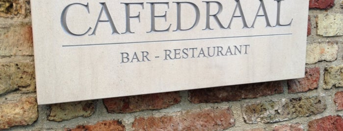 Cafedraal is one of Tim's Favorite Restaurants & Bars around The Globe.