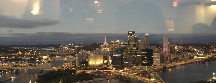 The Grandview Saloon & Coal Hill Steakhouse is one of The 15 Best Places with Scenic Views in Pittsburgh.