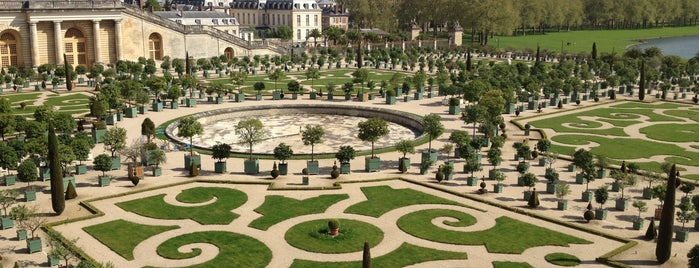 Park of Versailles is one of Paris.