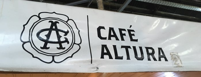 Café Altura is one of Los 100 rincones imperdibles de Santiago.