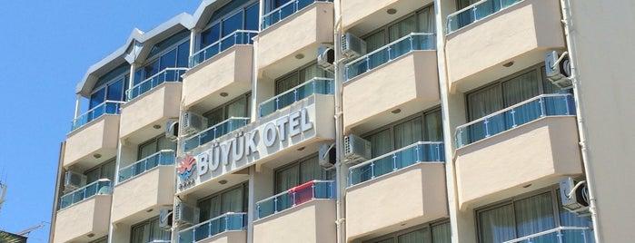 Alanya Buyuk Otel is one of Turkiye Hotels.