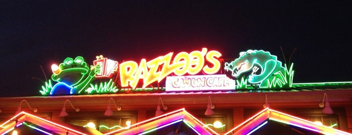 Razzoo's Cajun Cafe is one of YUMMY.